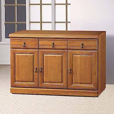 AS-堤姆正樟木4尺碗盤櫃下座-120x45x81cm