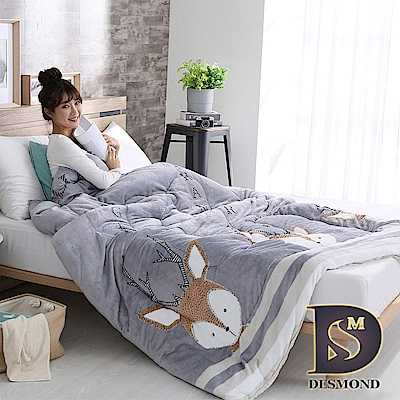 DESMANO岱思夢 台灣製 極緻保暖雙面法蘭絨暖暖被 特厚款  2 . 5 KG 小鹿斑比
