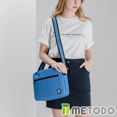 【METODO防盜包】ST Crossbag L不怕割斜背包肩包TSL-804皇家藍/耐磨防潑水/旅遊包/休閒包