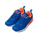 艾樂跑Combat女款 飛織氣墊運動鞋-藍/黑 (22-542)