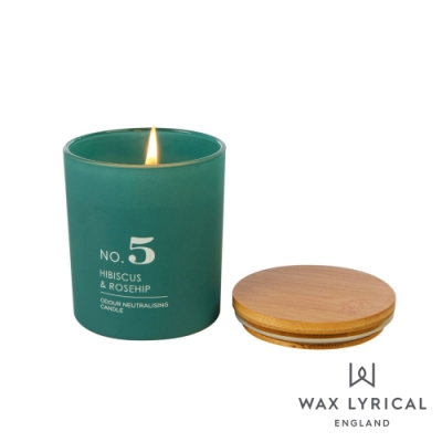 英國 Wax Lyrical 居家系列香氛蠟燭-NO.5 芙蓉玫瑰 Hibiscus & Rosehip 190g