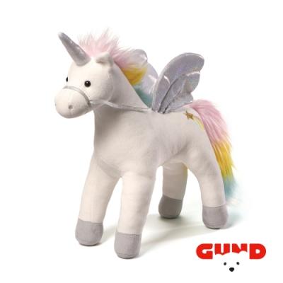 【美國GUND】魔法聲光夢幻七彩獨角獸安撫玩具