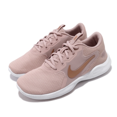 Nike 慢跑鞋 Flex Experience RN 女鞋 輕量 透氣 舒適 避震 路跑 健身 粉 白 CD0227200