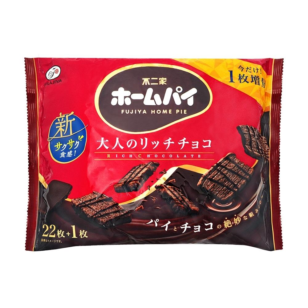 不二家 特濃巧克力大千層派(170.2g)