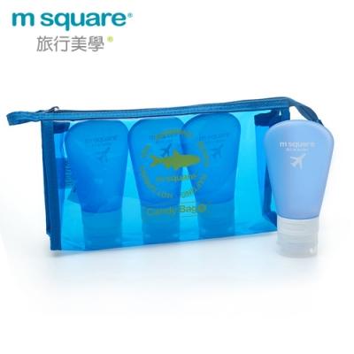 m square親水系列PVC化妝包L