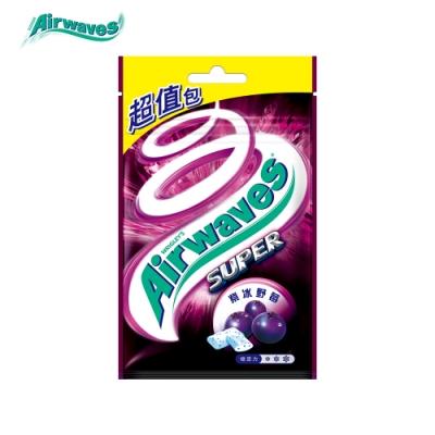 Airwaves 紫冰野莓超涼無糖口香糖(44粒超值包)
