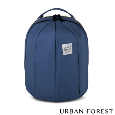 URBAN FOREST都市之森 甲蟲-可擴充後背包/雙肩包 (L號) 海軍藍
