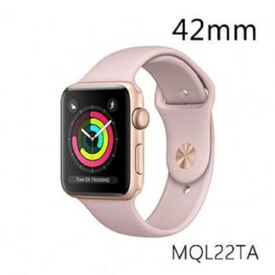 《福利品》Apple Watch Series 3-42m 鋁金-粉(SPY)