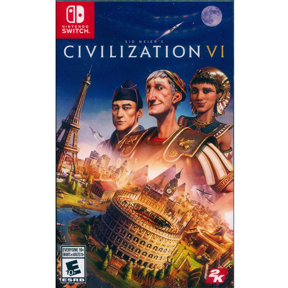 文明帝國 6 Civilization 6 - NS Switch 中英日文美版