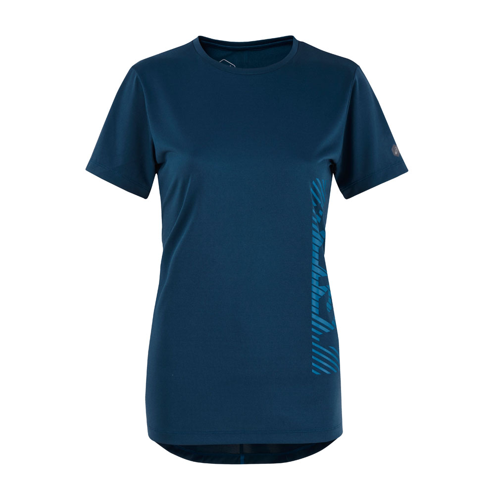 ASICS 女短袖上衣 2032A474-402 @ Y!購物
