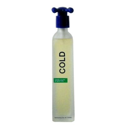 Benetton Cold 班尼頓冷水男性淡香水 100ml 絕版商品