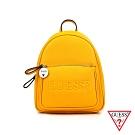 GUESS-女包-經典logo浮水印花後背包-黃