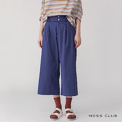 【MOSS CLUB】獨家台灣製日本布料休閒-長褲(三色)