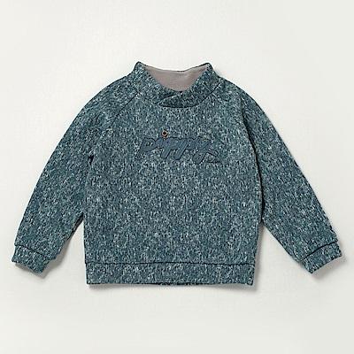 PIPPY 高領保暖內刷毛上衣 綠