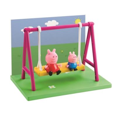粉紅豬小妹- 雙人偶戶外組 - 盪鞦韆  PEPPA PIG