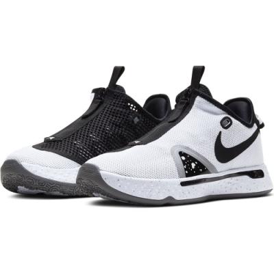 NIKE 運動鞋 籃球 健身 明星 熊貓配色 球鞋 男款 白黑 CD5082100 PG 4 EP