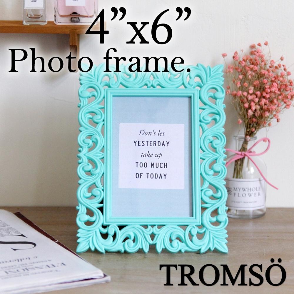 TROMSO皇家巴洛克4x6相框-巴洛克藍綠