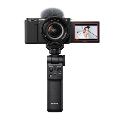 SONY  ZV-E10 + E10-18mm+GP-VPT2BT握把 廣角自拍組合 (公司貨)