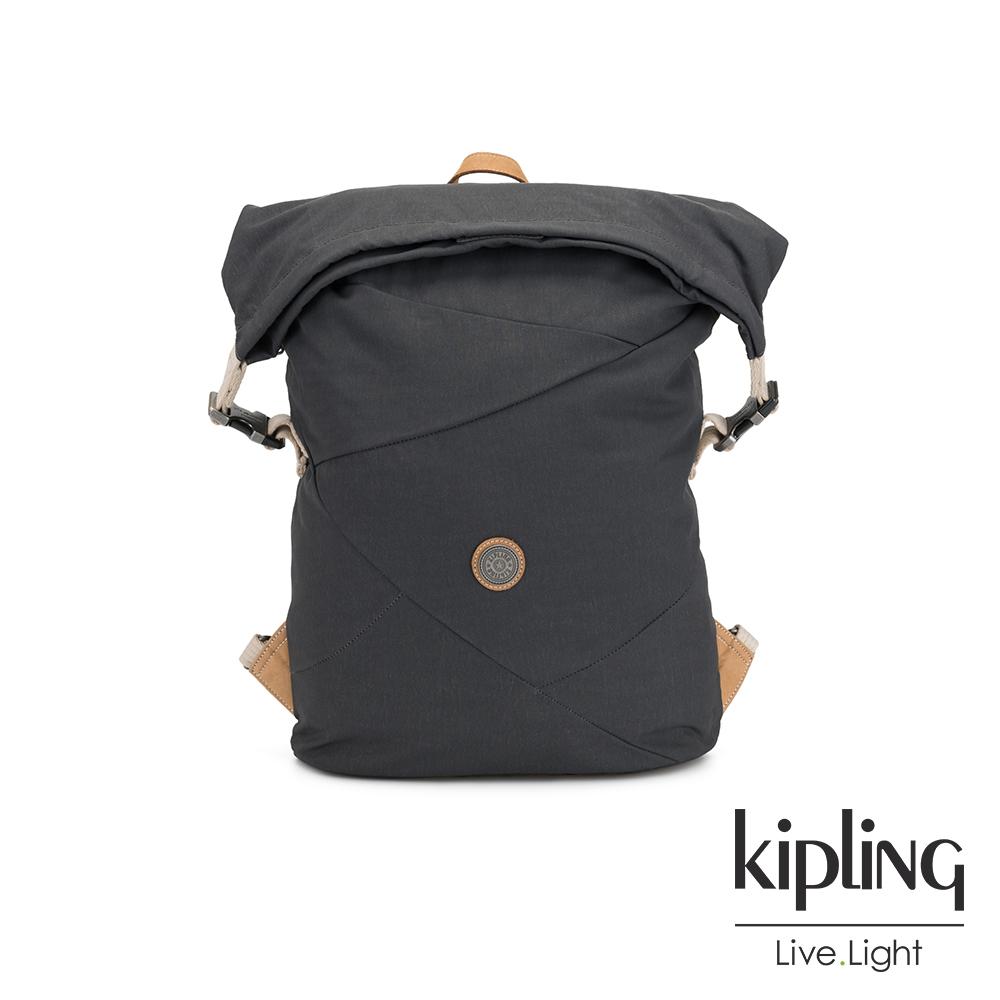 Kipling 城市探索霧灰插扣3way百變後背包-REDRO-EDGELAND系列