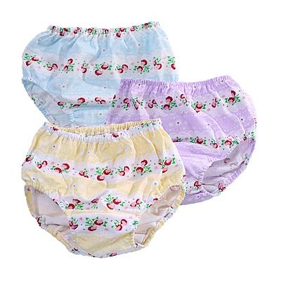 1~3歲女童純棉內褲(四件組) k51170 魔法Baby