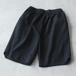 寬松純棉寬管褲微喇五分短褲-設計所在