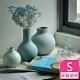 【Meric Garden】北歐啞光釉創意陶瓷花瓶/花器_(莫蘭迪綠S) product thumbnail 1