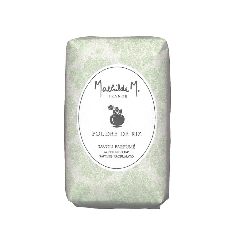 Mathilde M.法國瑪恩 米香柔嫩香水皂100g