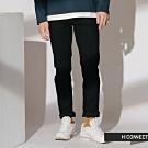 H:CONNECT 韓國品牌 男裝-純色修身牛仔褲-黑