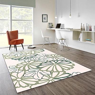 范登伯格 - 荷莉 進口地毯 - 花描 (粉) (大款 - 160 x 230cm)