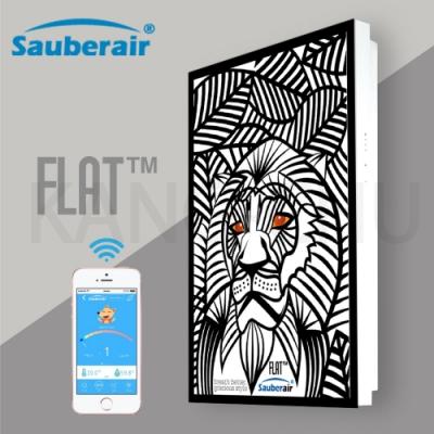 Sauberair 6-10坪 叢林獅王黑框 智能控制空氣清淨機 FLAT-BT 台灣品牌 壁掛畫框式