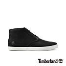 Timberland 男款黑色磨砂革休閒鞋|A1Z8A