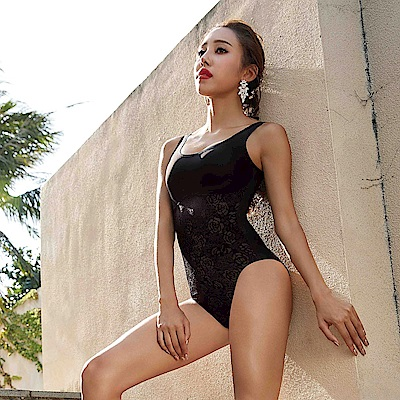 曼黛瑪璉 魔美系列 連身塑身衣 S-XL(黑)