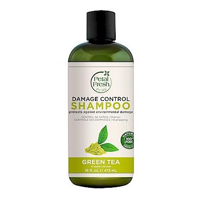 美國沛特斯 有機成份綠茶亮采洗髮精(無矽靈-16oz/475ml)