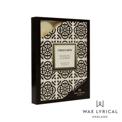 英國 Wax Lyrical 大地系列香氛蠟燭-茉莉紅茶 Black Tea & Jasmine 12入茶燭