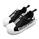 adidas 休閒鞋 Superstar 360 襪套 童鞋 愛迪達 基本款 運動 簡約 穿搭 小童 黑 白 EG3408 product thumbnail 1