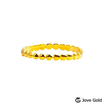 Jove gold 夢幻泡泡黃金戒指