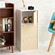 【H&R安室家】木質三門收納櫃 置物櫃BCF32 product thumbnail 1