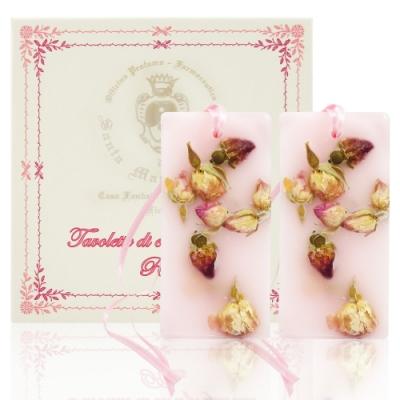 Santa Maria Novella Rosa 玫瑰香氛蠟版兩入組 30g*2入