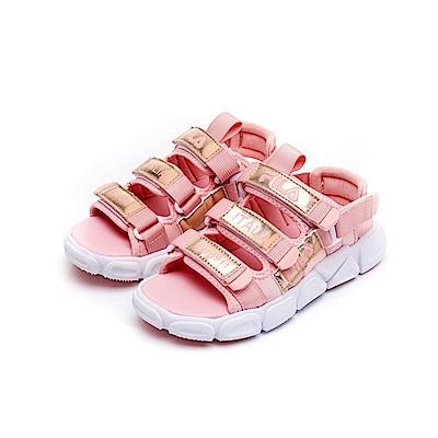 FILA KIDS 大童MD運動涼鞋-粉 3-S411U-515