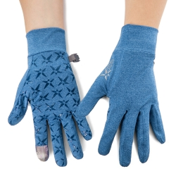 PolarStar 抗UV排汗短手套『藍色』P19515 可觸控