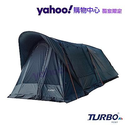【Turbo Tent】Tourist 270 單件式ㄧ房一廳六人帳篷-忍者黑