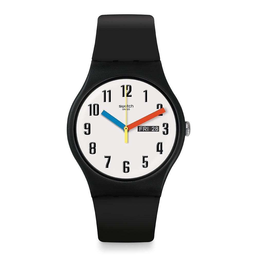 Swatch Bau 包浩斯系列手錶 ELEMENTARY 簡約 -41mm