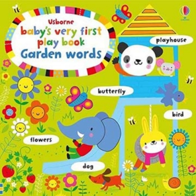 Baby s Very First Play Book Garden Words 硬頁書