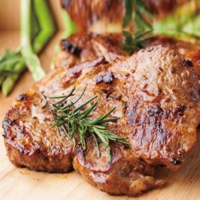 (滿額) 豪鮮牛肉 經典黑胡椒帶骨豬大排2片  (110公克±10%/片 )