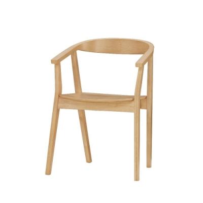 MUNA 耶魯餐椅(板)(實木)(4入) 56X47.5X77cm
