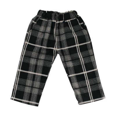 男童秋冬款格紋休閒長褲 k60994 魔法Baby