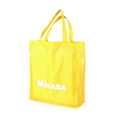 MIKASA 摺疊購物袋 黃白