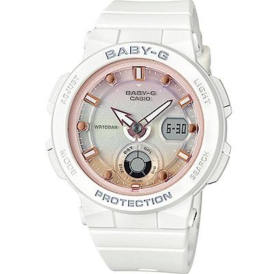 BABY-G 海洋風格運動腕錶(BGA-250-7A2)