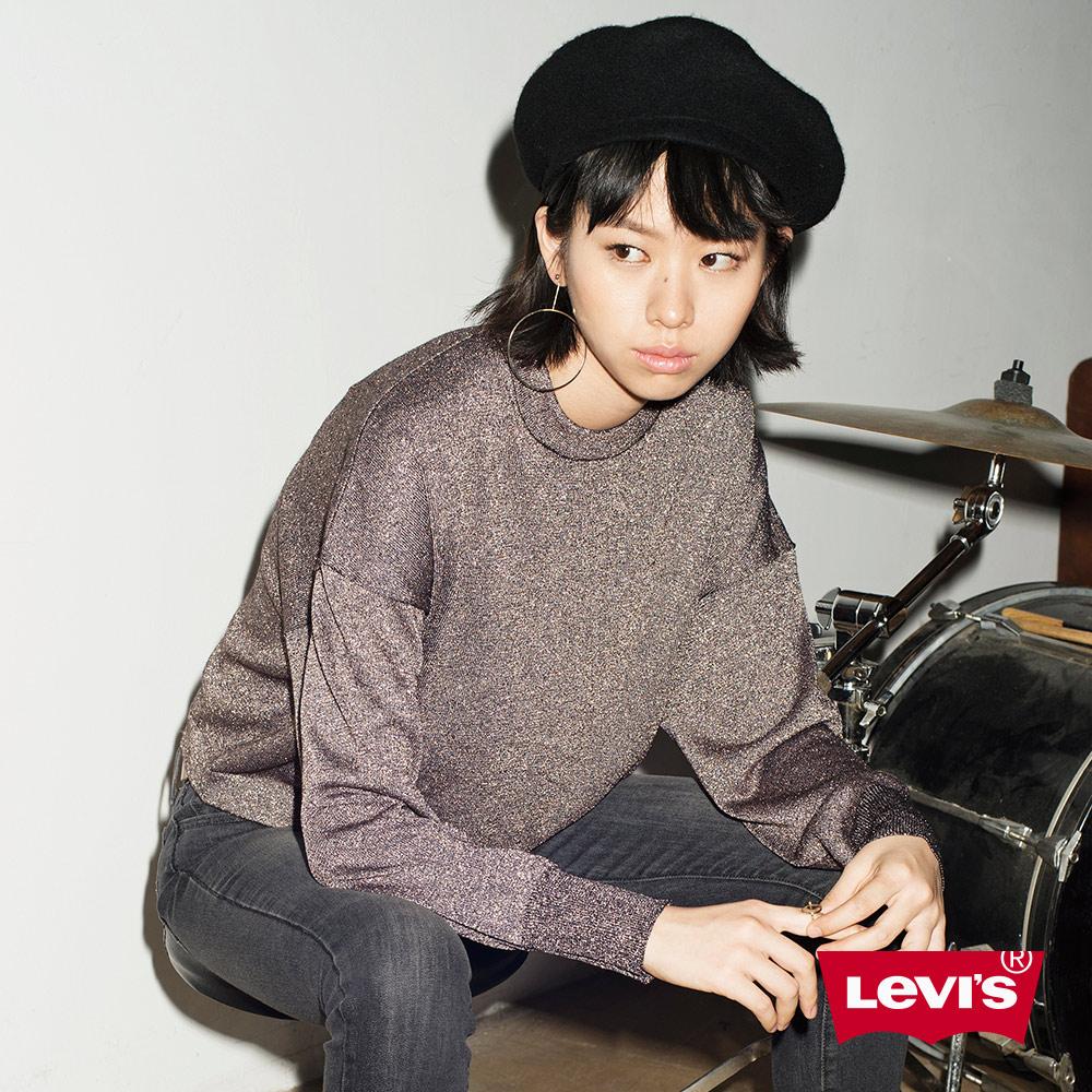 Levis 毛衣 女裝 金蔥 短版