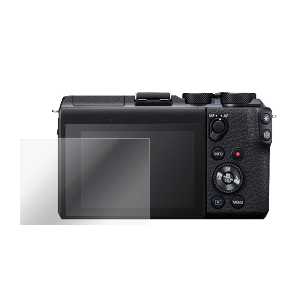 Kamera 9H 鋼化玻璃保護貼 for Canon EOS M6 Mark II / M6II / 相機保護貼 / 贈送高清保護貼